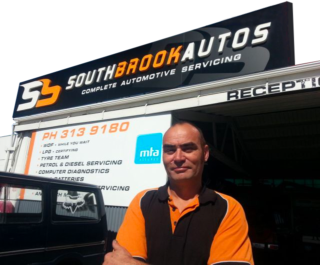 The friendly team at Southbrook Autos are happy to do your automotive repairs and WOFs